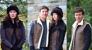 Sheepskin Vests
