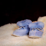Baby Booties - Sheepskin Slippers for the Tiniest Feet