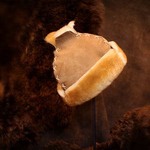 Mongolian Sheepskin Fur Hat