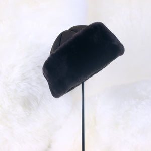Men's Classic Sheepskin Fur Hat