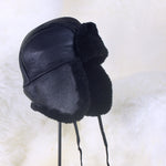 Women's Trooper Shearling Sheepskin Fur Hat