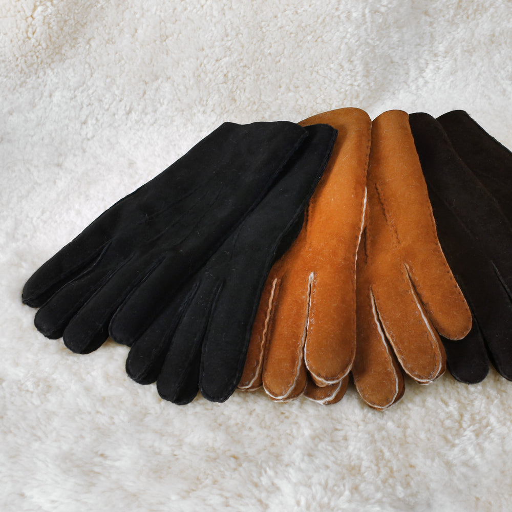 Sheepskin Gloves - Shearling Gloves for Men