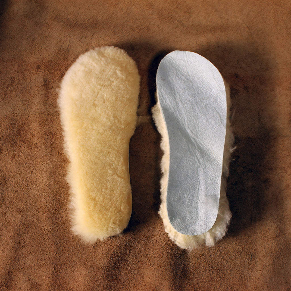 Women's Sheepskin Fur Insoles