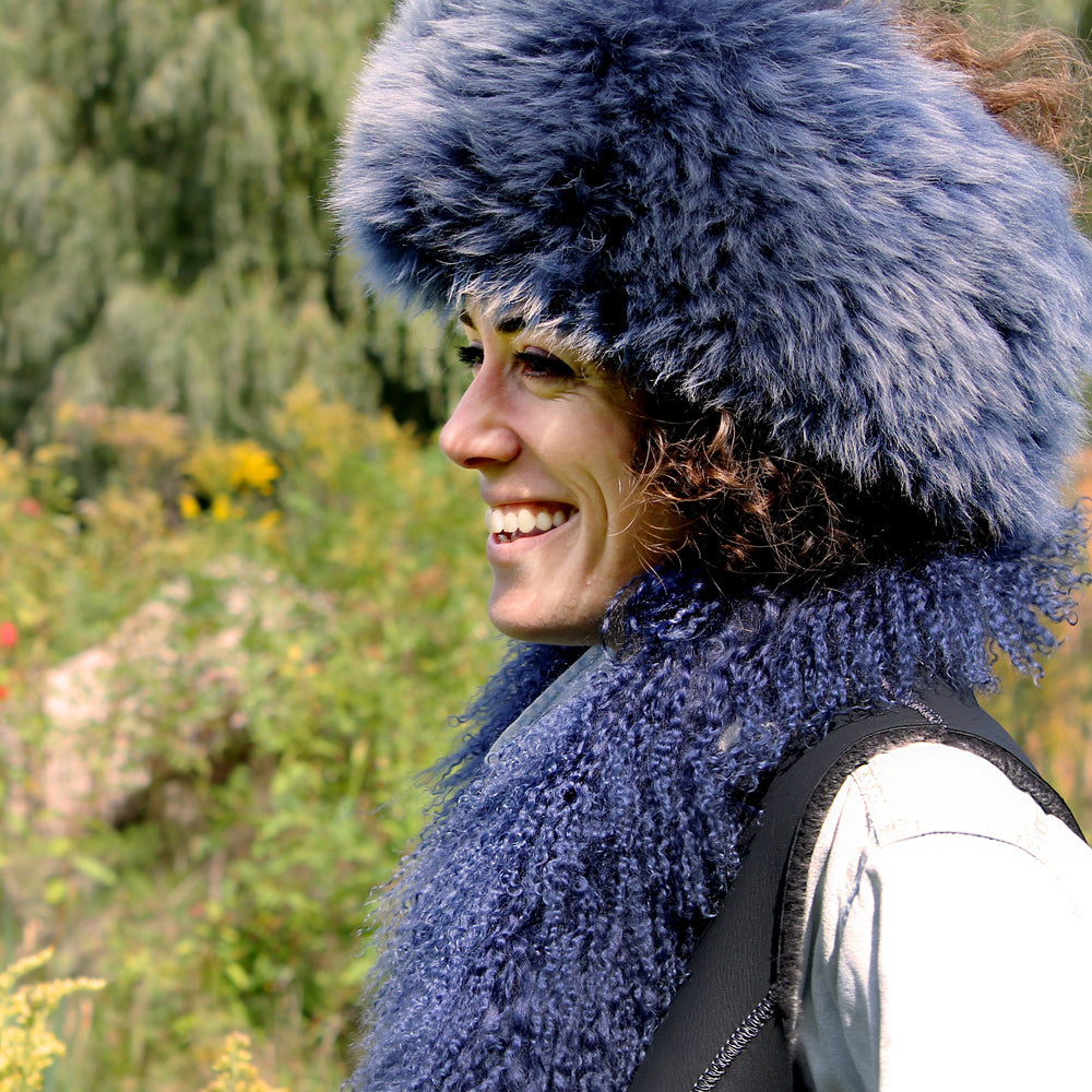Women's Sheepskin Fur Headband