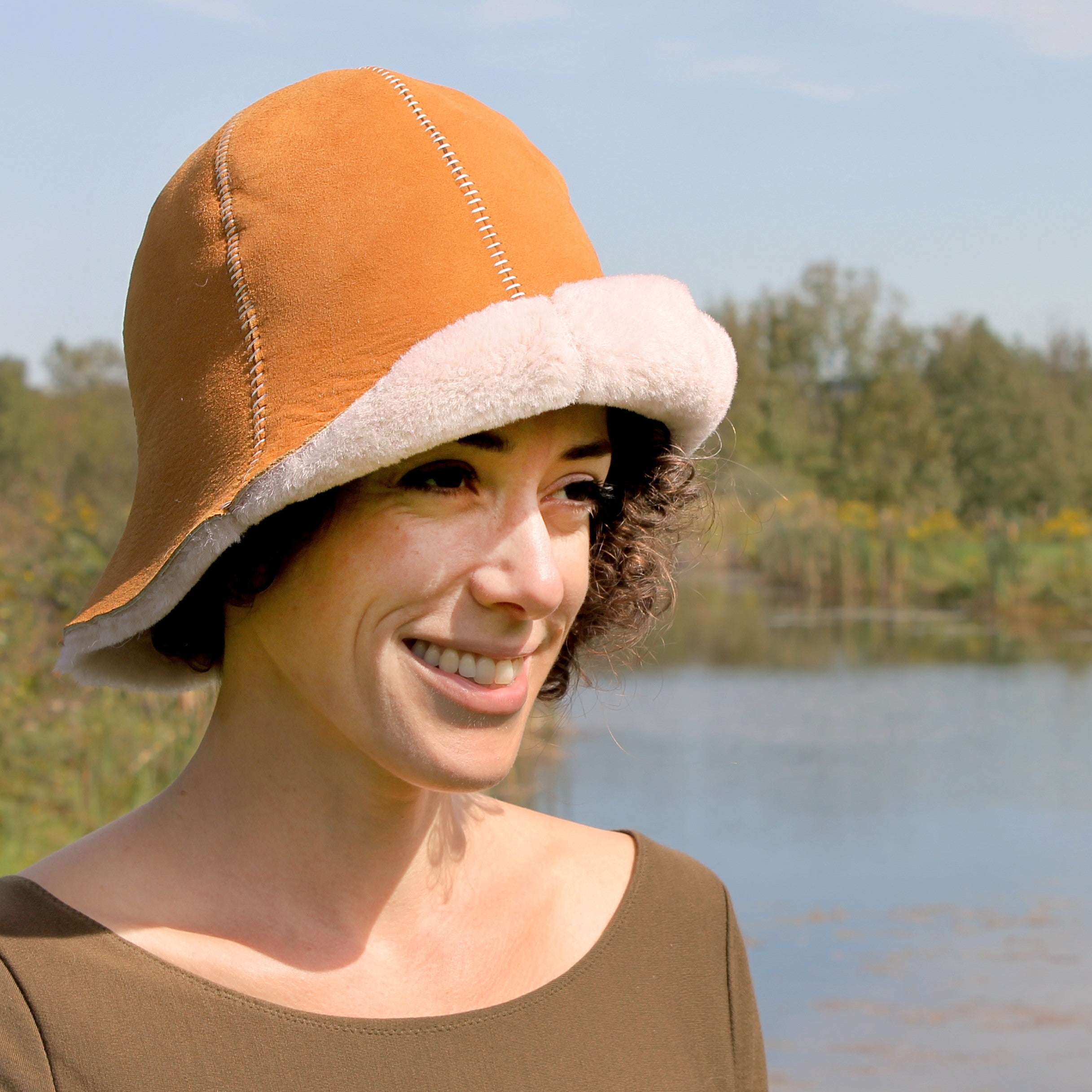 The Tulip | Sheepskin Cloche