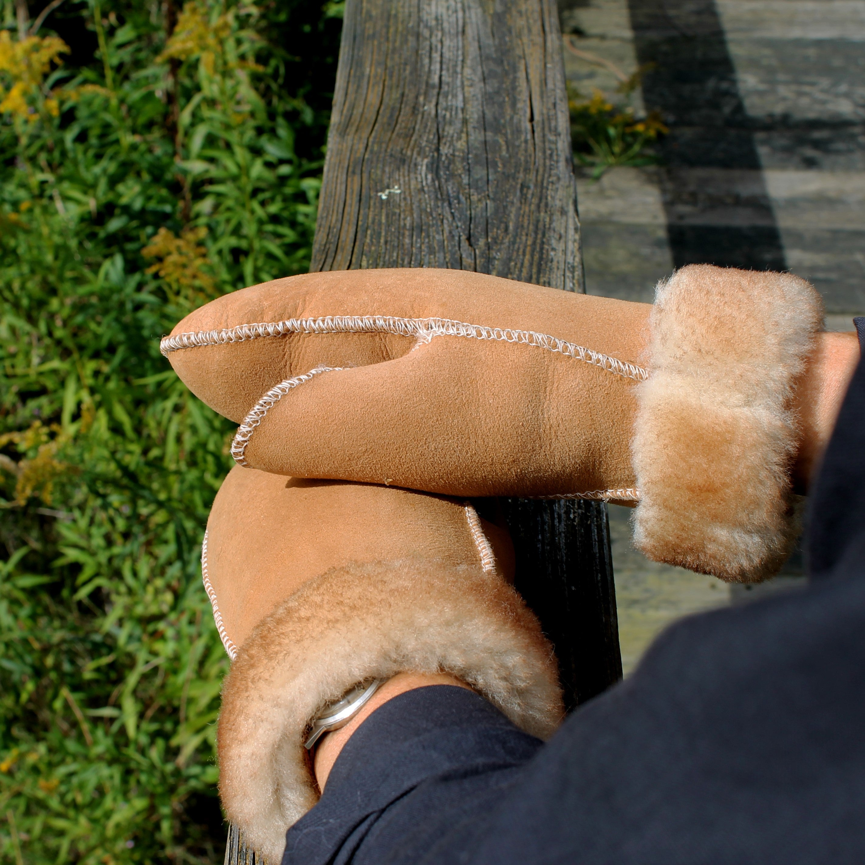Women's Sheepskin Fur Mittens