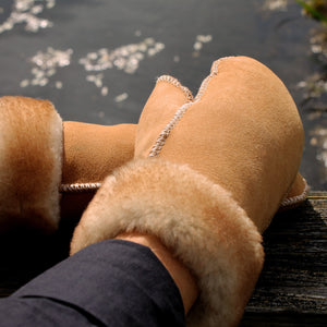 Men's Sheepskin Fur Mittens