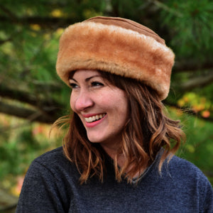 Women's Caryn Shearling Sheepskin Fur Hat