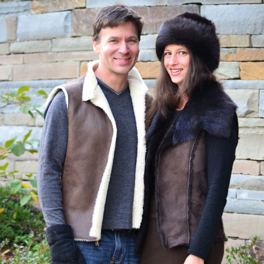 The Basic Sheepskin Vest