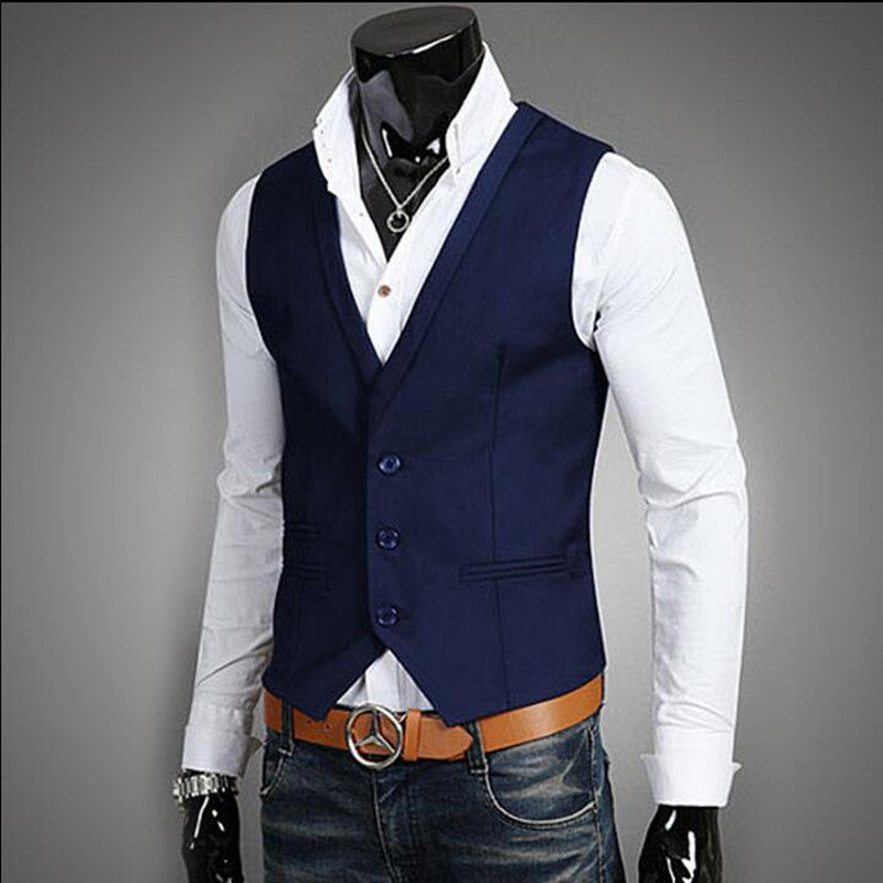 da43e90f92d Ginavece s Formal Business Vest available in M-5XL only