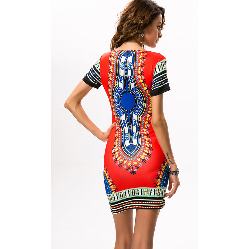 ccd8a5a929 ( 39.99) Traditional 2018 Dashiki Dresses Available in Plus Size 2XL 3XL.  2018 African Print Dresses for Women Africa Clothing ...