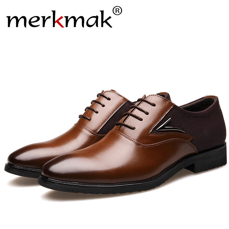 8f527426532 Ginavece s Merkmak Luxury Brand Men Shoes England Trend Leisure Leather  Shoes Breathable For Male Footwear Loafers Men Flats Big Size 37-48 US 6 -  13.5