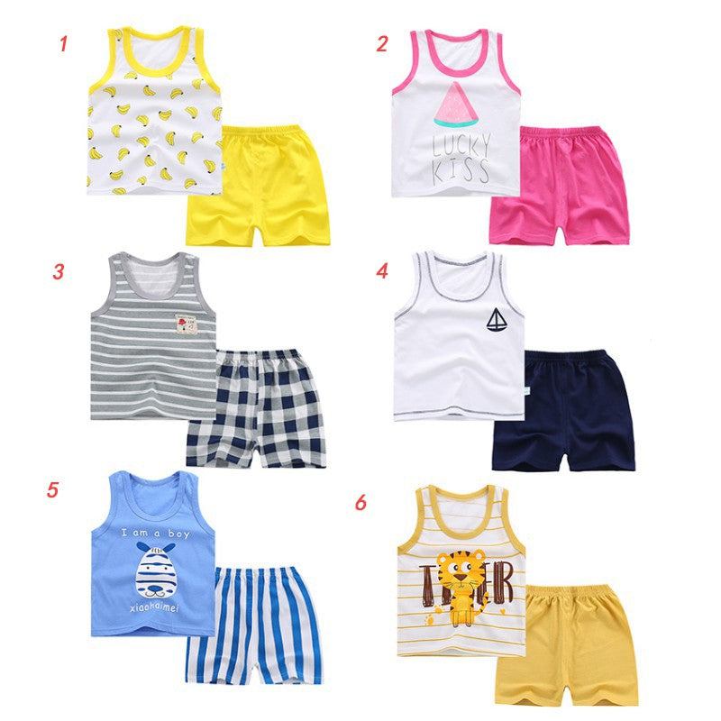 85e767ac1 Newborn Baby Boys Girls Cotton Sets Tracksuit For Boys Kids Top ...
