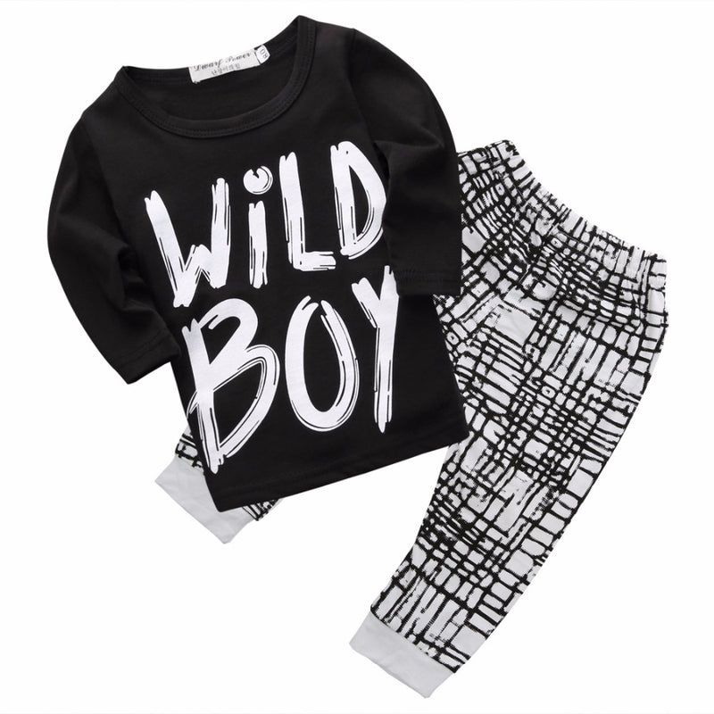 c537cd45aa9 Summer kids clothes sets boy t-shirt+pants suit clothing set Clothes newborn  sport