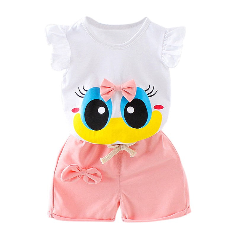 9e171927d WEIXINBUY Summer Infant Baby Girl Clothing Sport Lovely Long ...