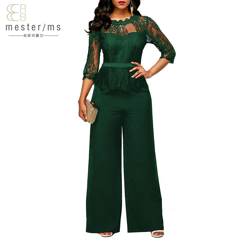 6573c2782b20 Women s Causal Lace Collar Party Romper – Ginavece s