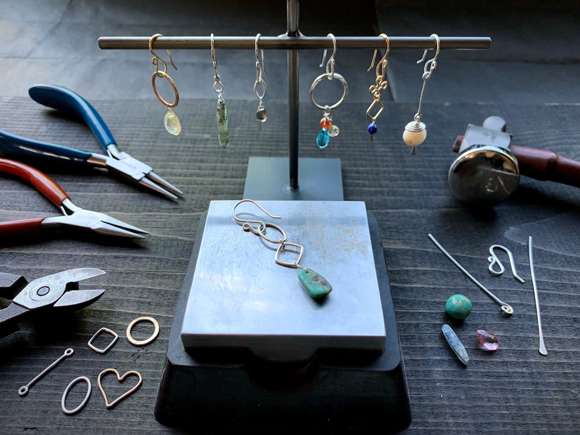 Earring Design Class - Jacob Williams Winery
