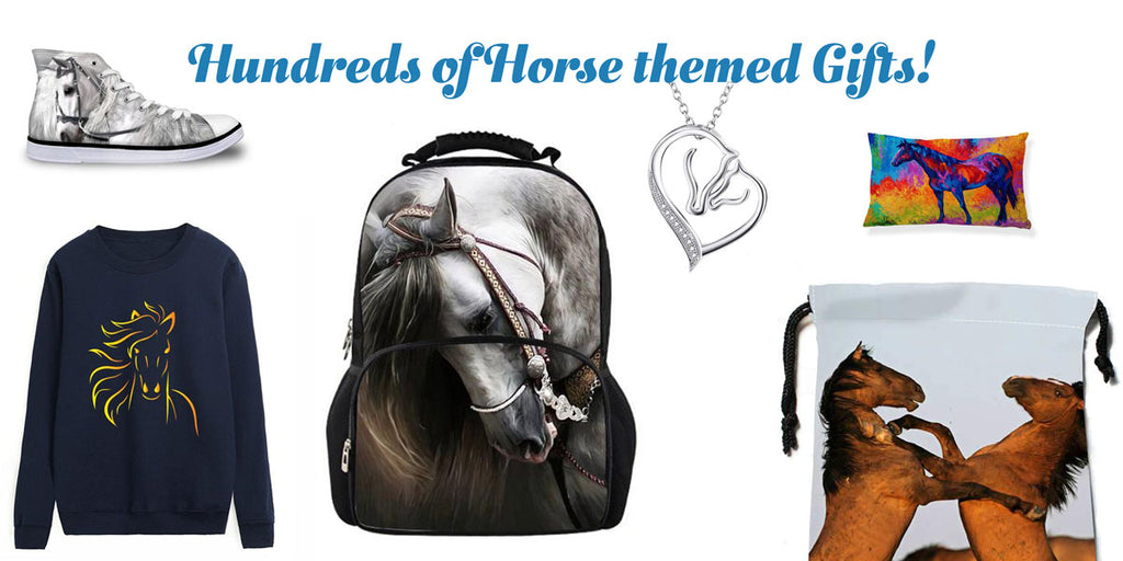 hundreds of horse themed gifts for horse lovers