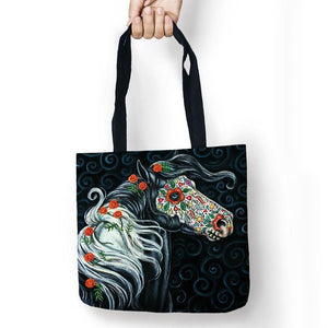 Day of the Dead Horse Tote