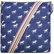Notebook Cross-body Horse Deco Handbag