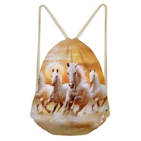 running herd of horses bag gift for horse lovers