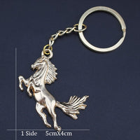 Flying Pony Key Ring