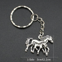 Horse Inspired Key Ring