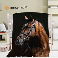 Horse Breed Throw