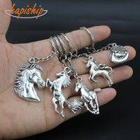 Shiny Silver Key Chain