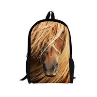 Backpack horse style