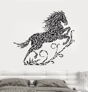 Geometric Running Horse Wall Sticker