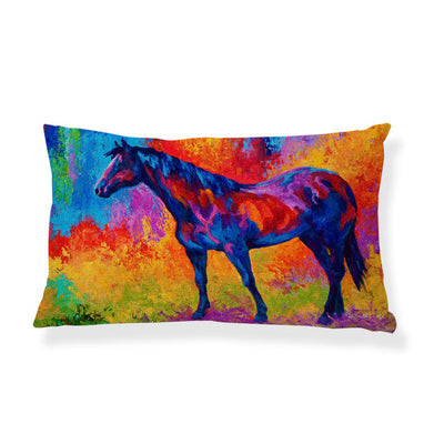 Bright Color Horse Pillow