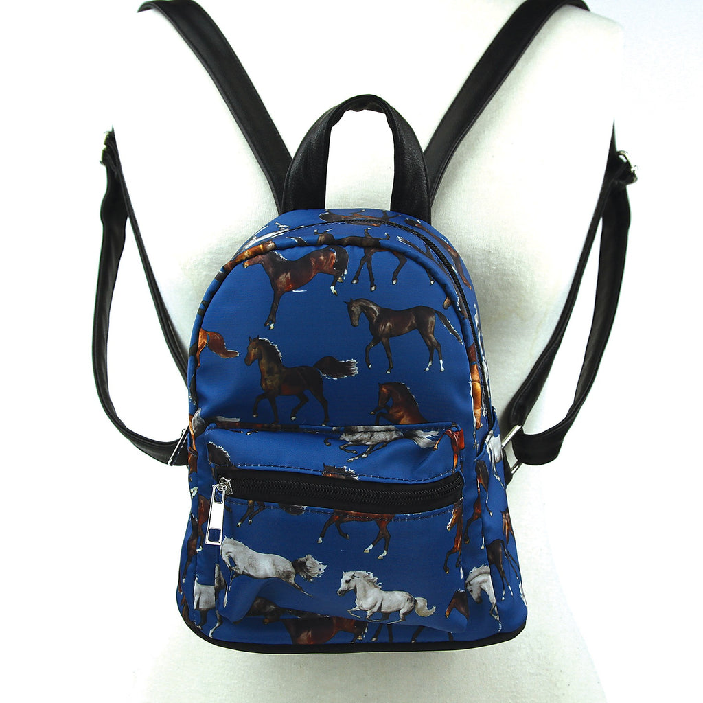 Running Horses Mini Backpack
