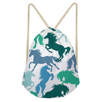Crazy Horse Drawstring Bags - Several Styles