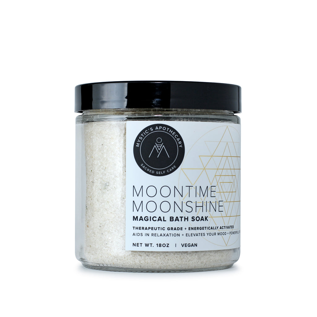 Moontime Moonshine Self Care Ritual Bath Salt Soak