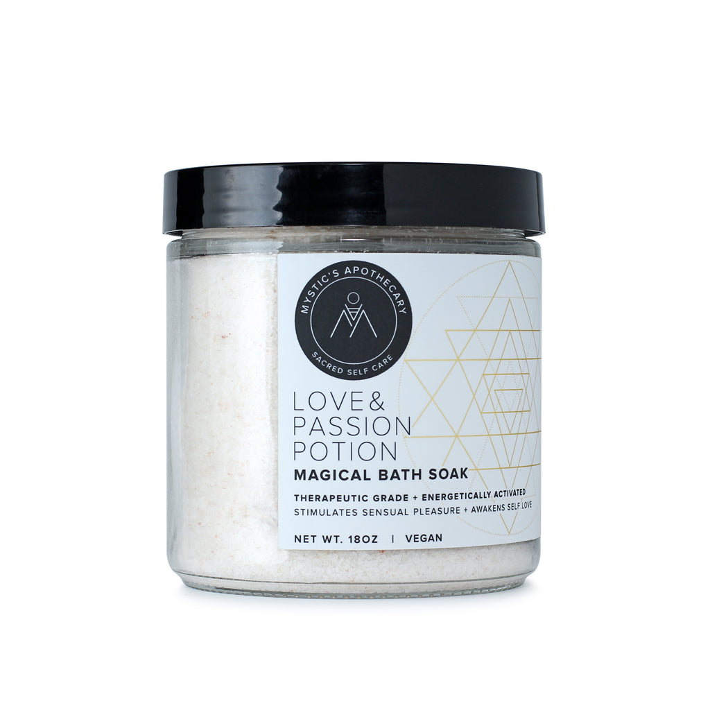 Love and Passion Potion Self Care Ritual Bath Salt Soak
