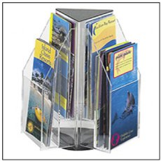 Rotating Brochure Holders