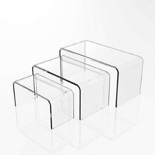 Narrow Clear Acrylic Riser NCAR