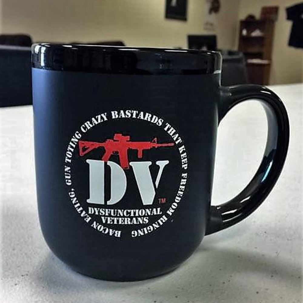 BACON EATING, GUN TOTING, CRAZY BASTARDS MUG