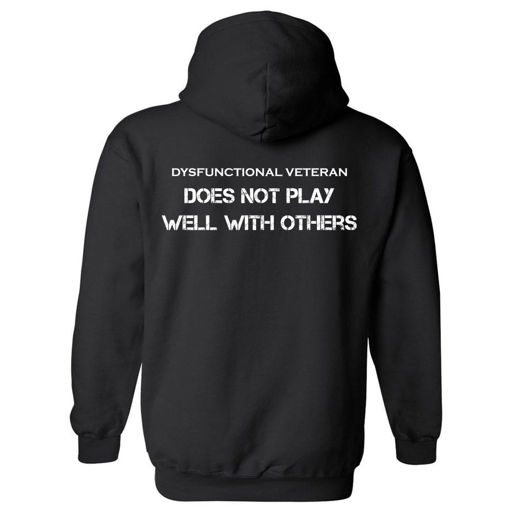 DOES NOT PLAY WELL HOODIE