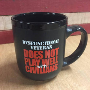 DOES NOT PLAY WELL MUG (PROMO)