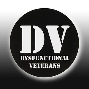 DV ROUND STICKER (15 PACK)
