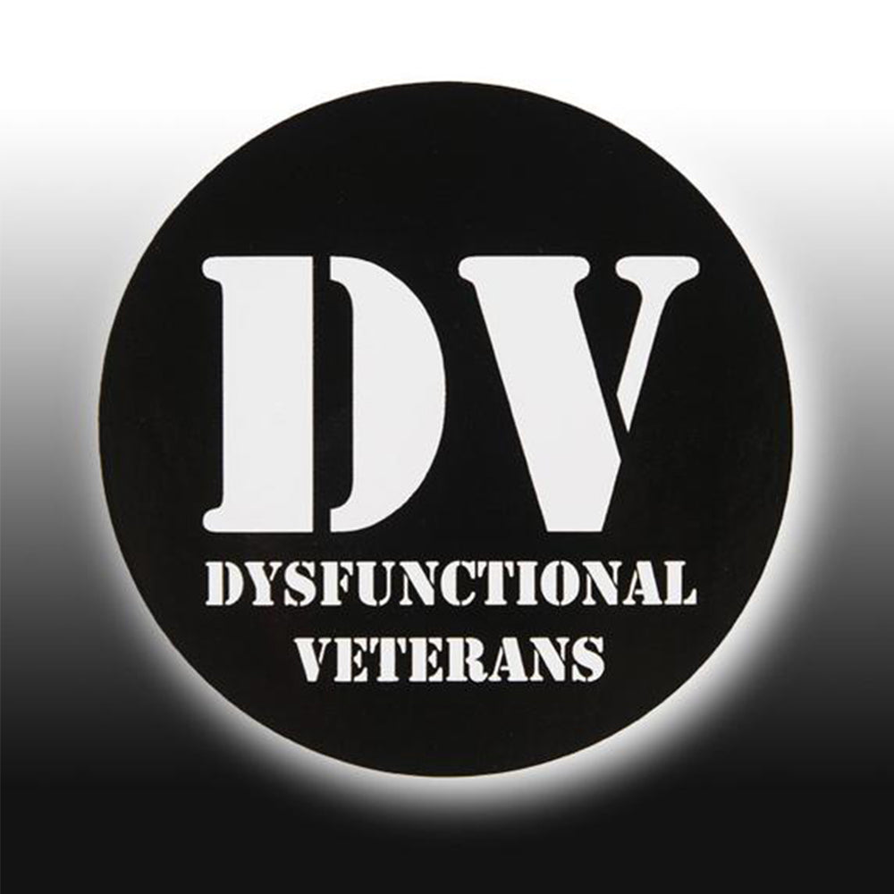 DV ROUND STICKER