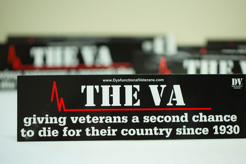 THE VA BUMPER STICKER