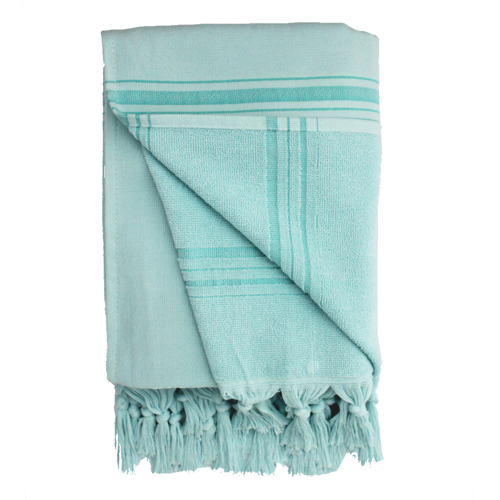 2in1 turquoise Fouta