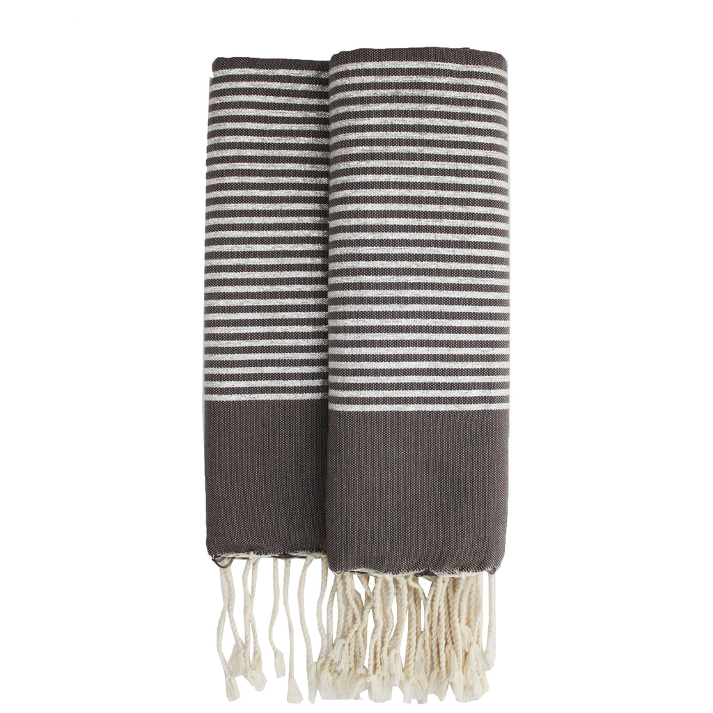 Bee grey Fouta - Elegance's Swim