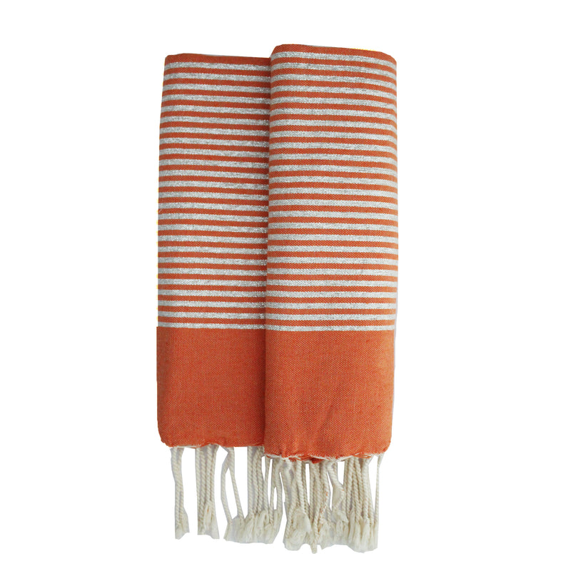 Bee orange Fouta - Elegance's Swim