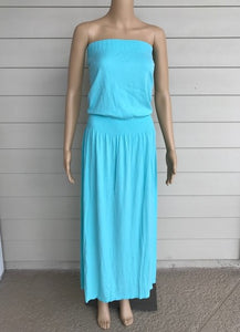 M. Rena Angel Blue Maxi Dress