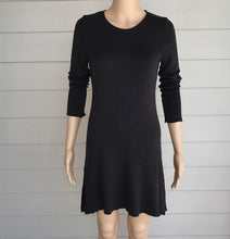 Load image into Gallery viewer, M. Rena Charcoal Sweater Dress
