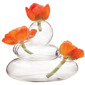 Rockpile Glass Vase